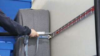 Ladungssicherung durch Sperrstangen